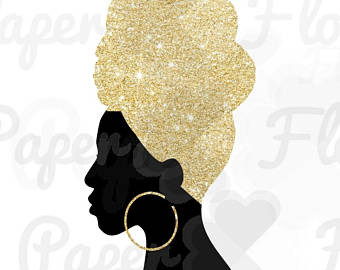 African clipart african queen. Etsy headwrap woman png