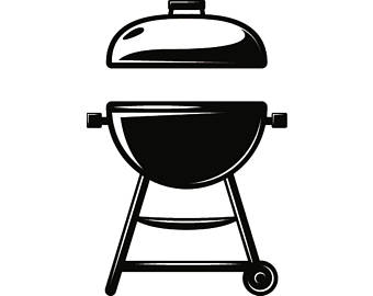 Etsy barbecue grill cooking. African clipart backyard bbq