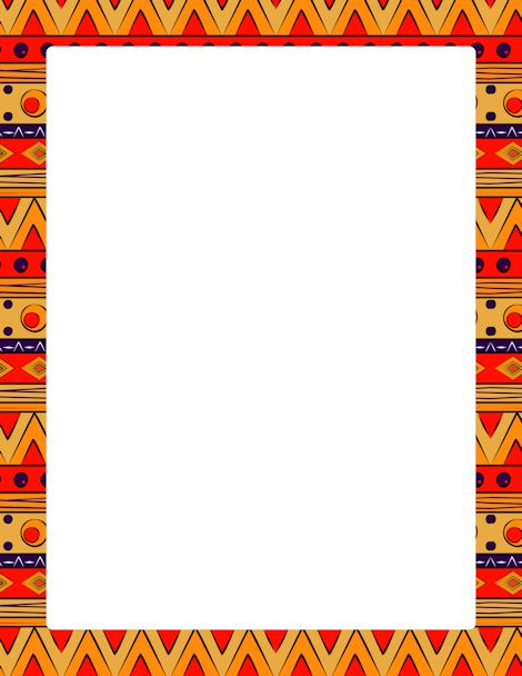 Aztec clipart border. Free africa cliparts download