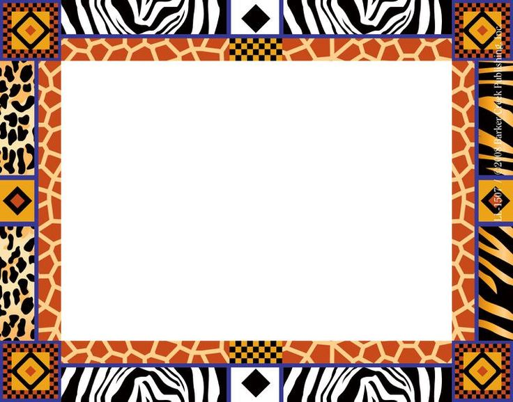 Border free download clip. African clipart boarder