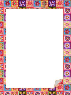 African clipart border. Frames for designing and