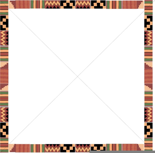 American borders free images. African clipart border