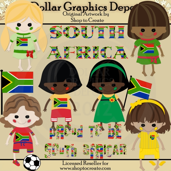 South dolls clip art. African clipart cultural