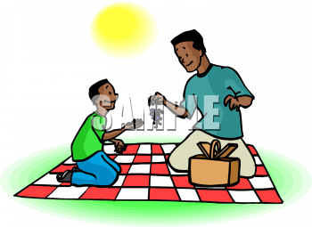 African clipart dad. Picture of a an