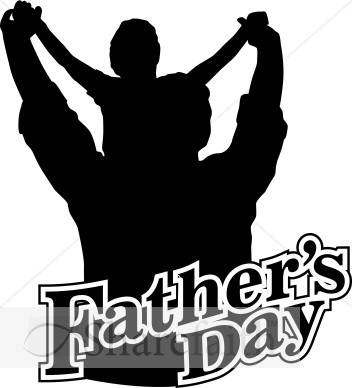 Father s day clip. African clipart dad