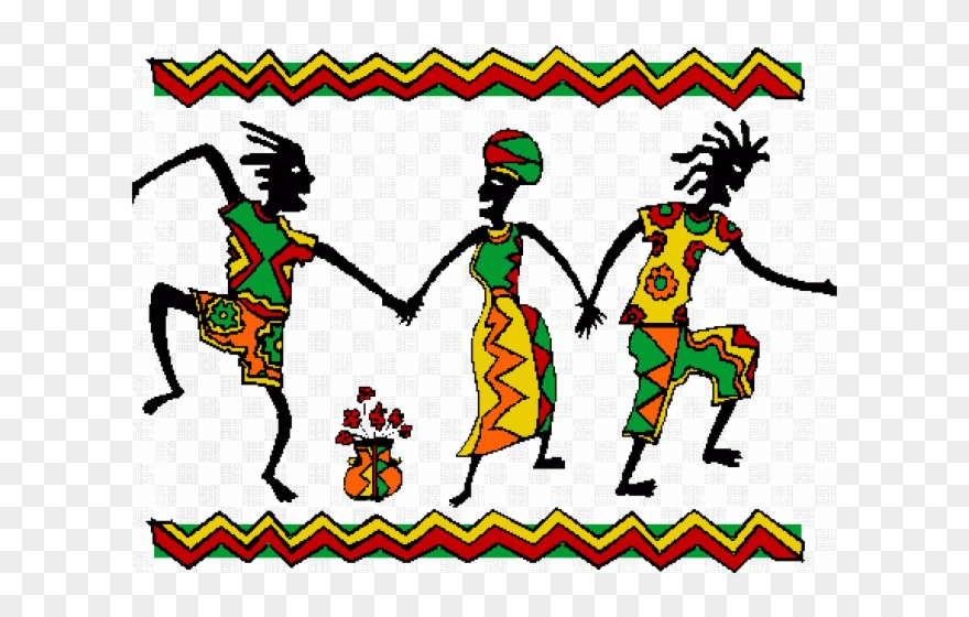 African clipart dance african. Dancing group transparent gif