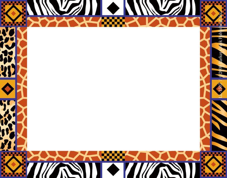 African clipart design. Free border designs download
