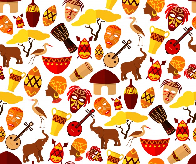 African clipart design. Tribal free collection download