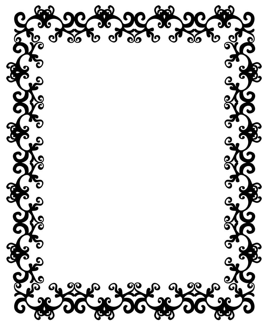 Free border designs download. African clipart design
