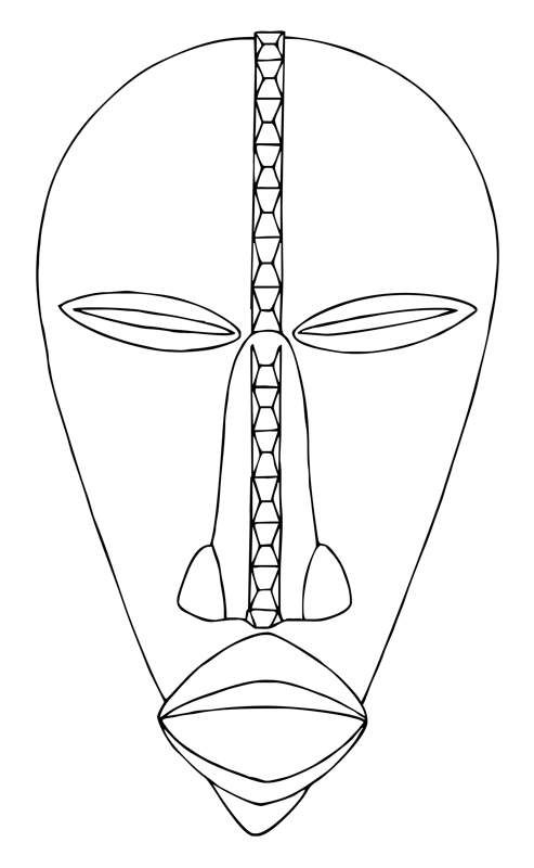 best tribal inspiration. African clipart easy