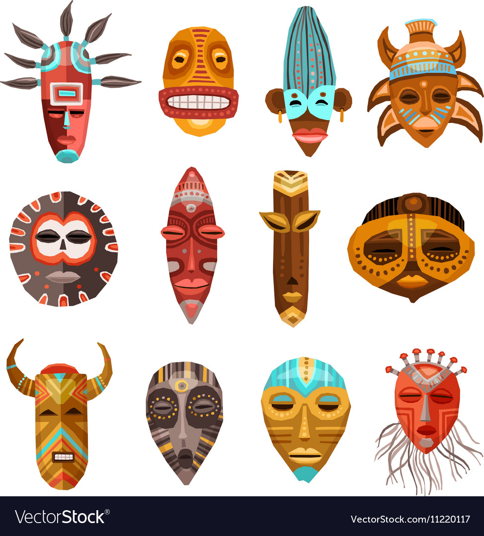 Tribal free collection download. African clipart ethnic