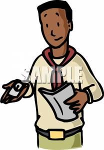 African clipart man african. American men