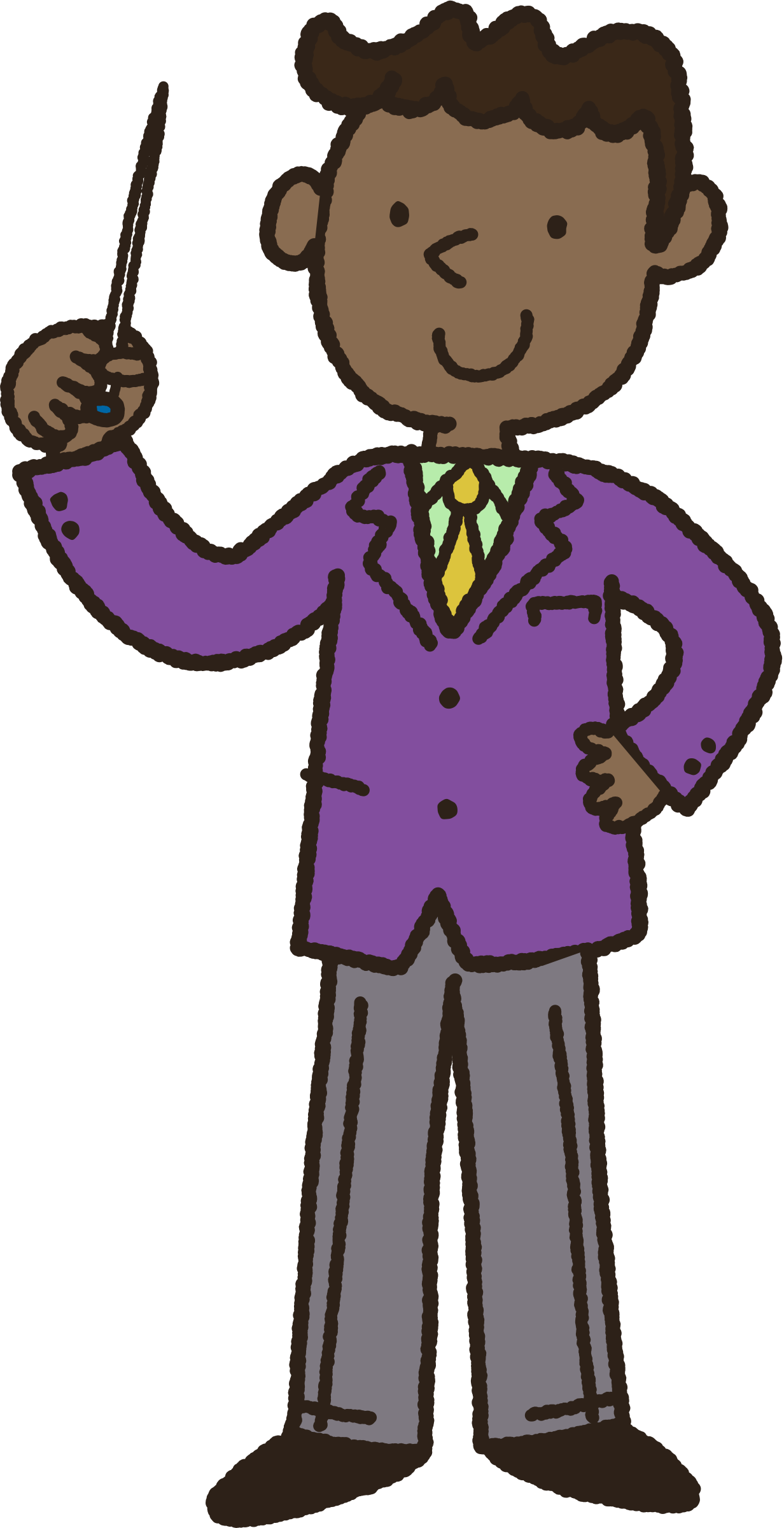 Instructor big image png. African clipart man african