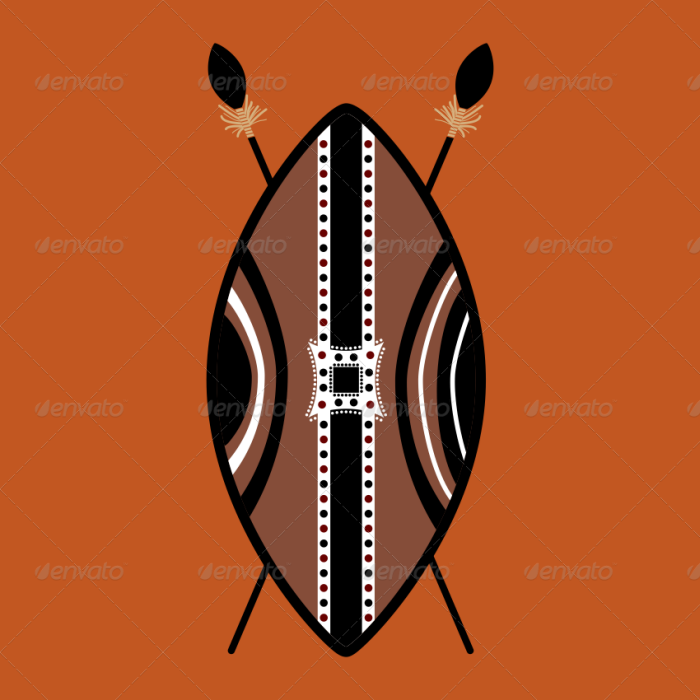 Shield vector designs by. African clipart masai