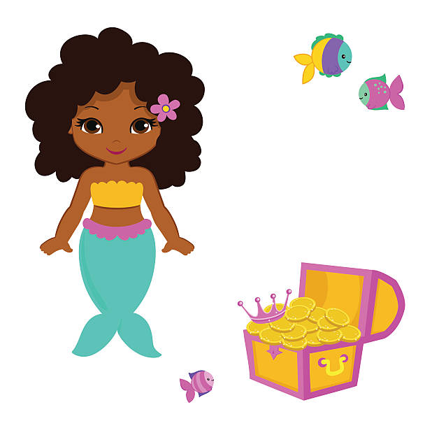 Graphics free download best. African clipart mermaid