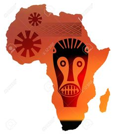 Daria world for children. African clipart music african