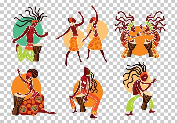 African clipart music african. Of africa png art