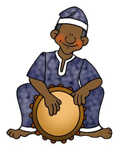 Instruments clip art music. African clipart musical instrument