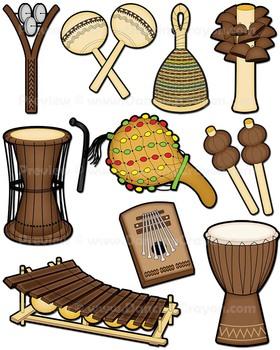 African clipart musical instrument. Instruments clip art