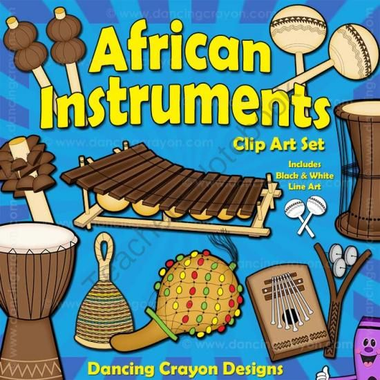 Instruments clip art from. African clipart musical instrument