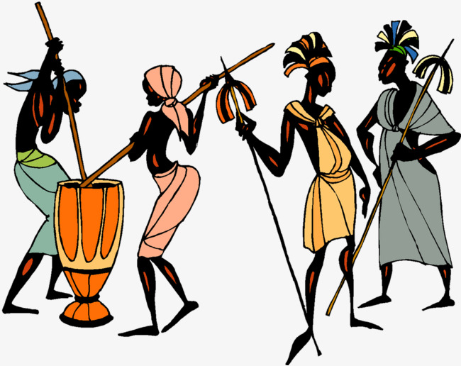 African clipart person africa. Women work black female