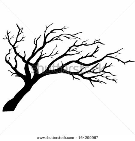 Tree silhouette clip art. African clipart simple