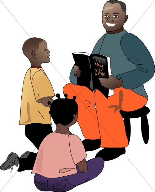 American and students sunday. African clipart teacher