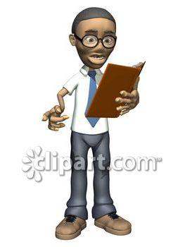African clipart teacher. Man