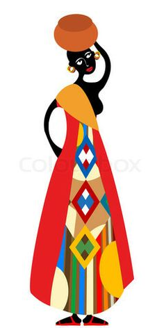 ee be ce. African clipart traditional