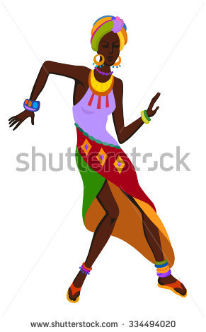 African clipart traditional. West dance
