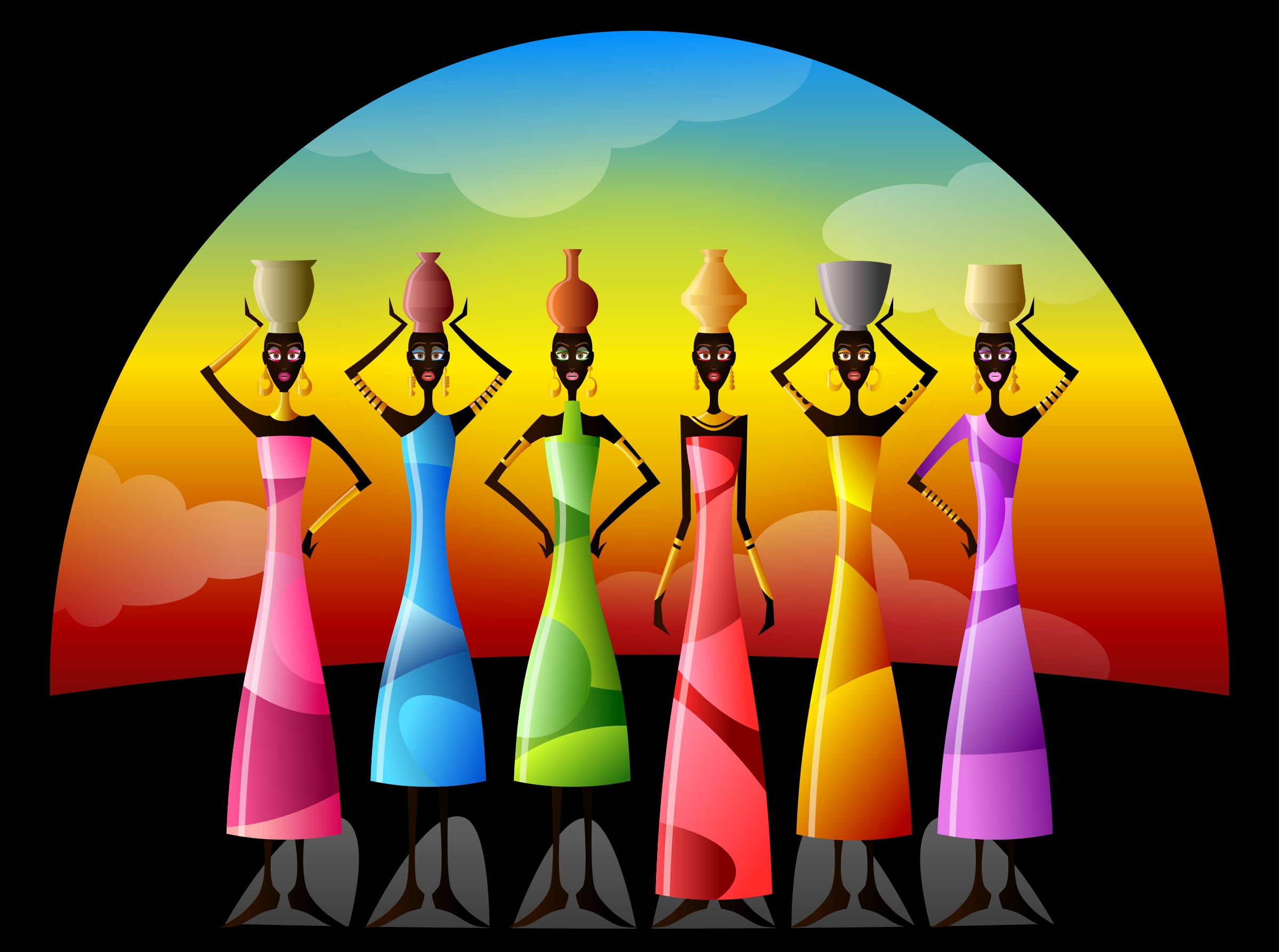 Africa Clipart Traditional