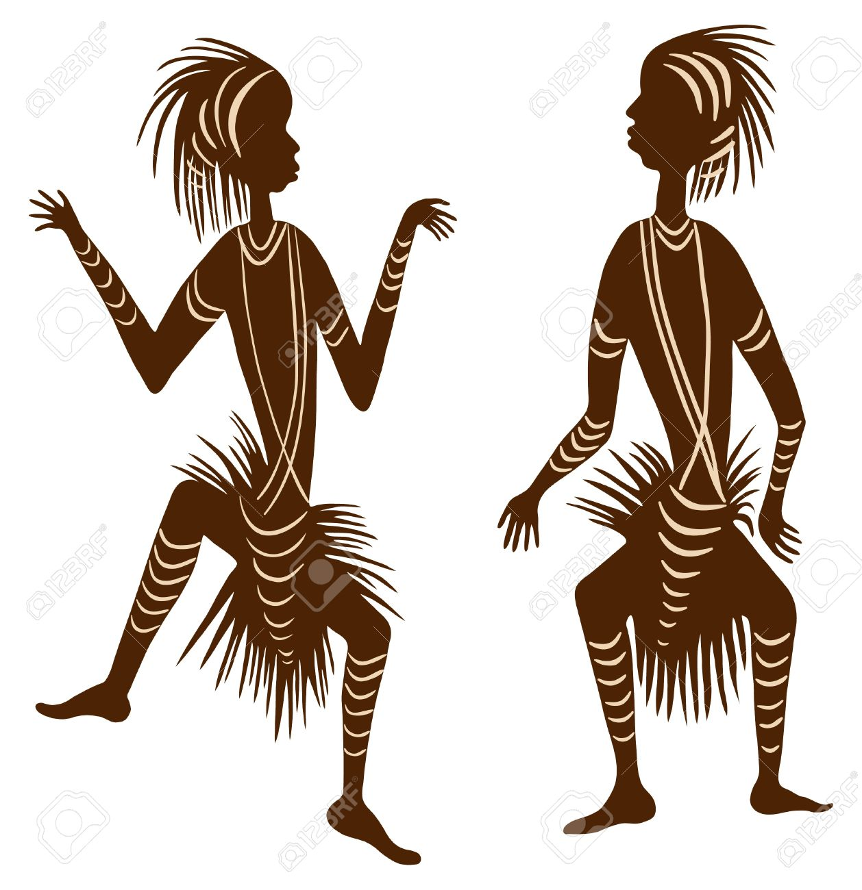 African clipart traditional. Tribal dance related coloring
