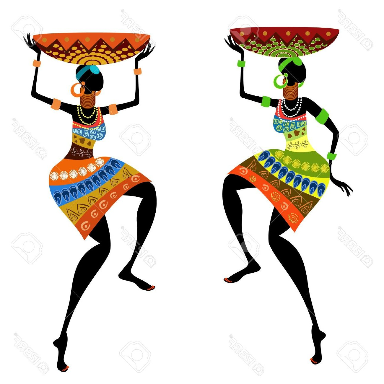 African clipart traditional. Tribal dance many interesting