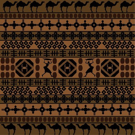 African clipart traditional. Free pattern and vector
