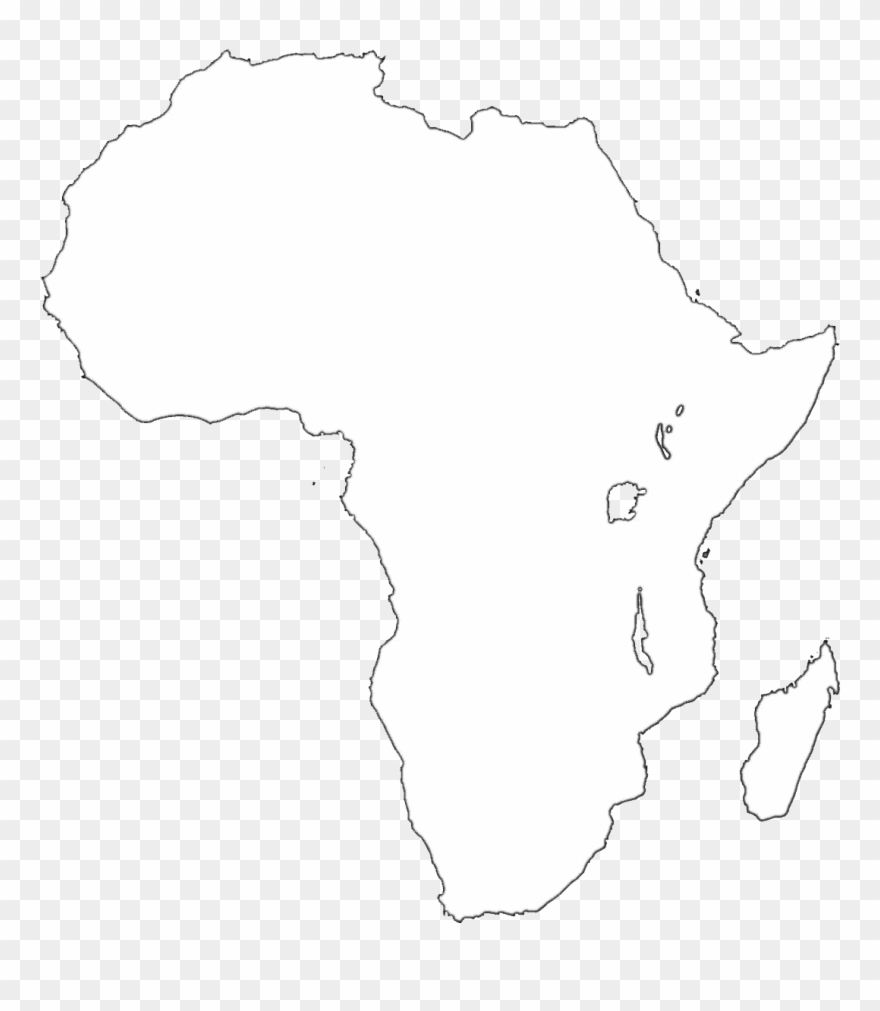African clipart transparent. Africa map background pinclipart