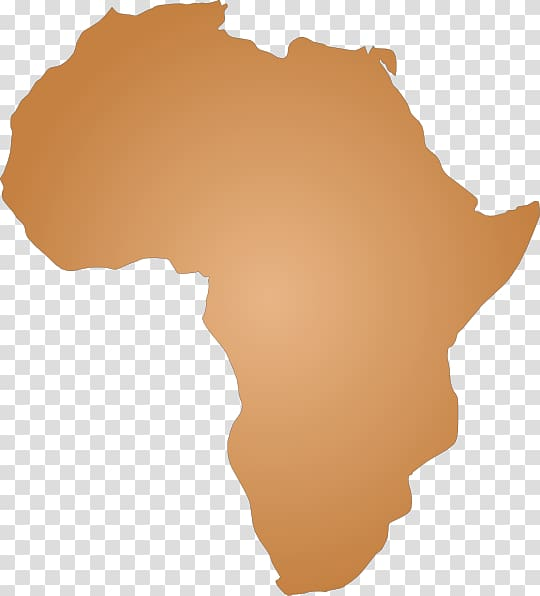 South africa map background. African clipart transparent