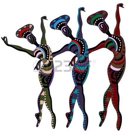 African clipart tribal. Africa dance