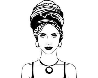 african clipart turban