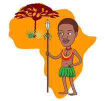 Free africa clip art. African clipart