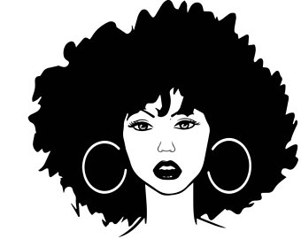 African clipart african queen. Black woman etsy nubian