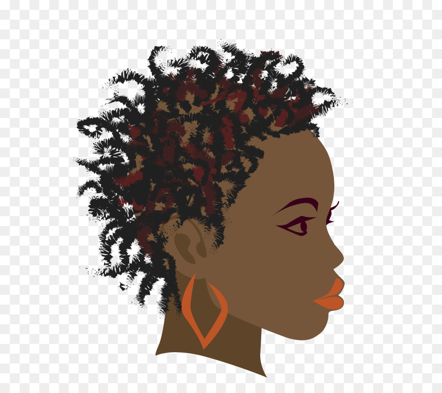 Africa clipart afro. Braid black girl clip