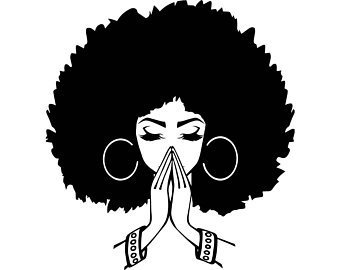Woman portal . Afro clipart afro lady