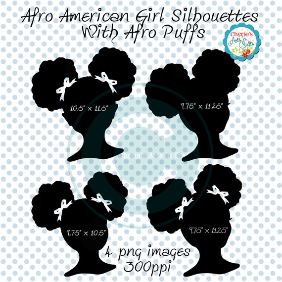 Afro clipart afro puffs. Clip art african american