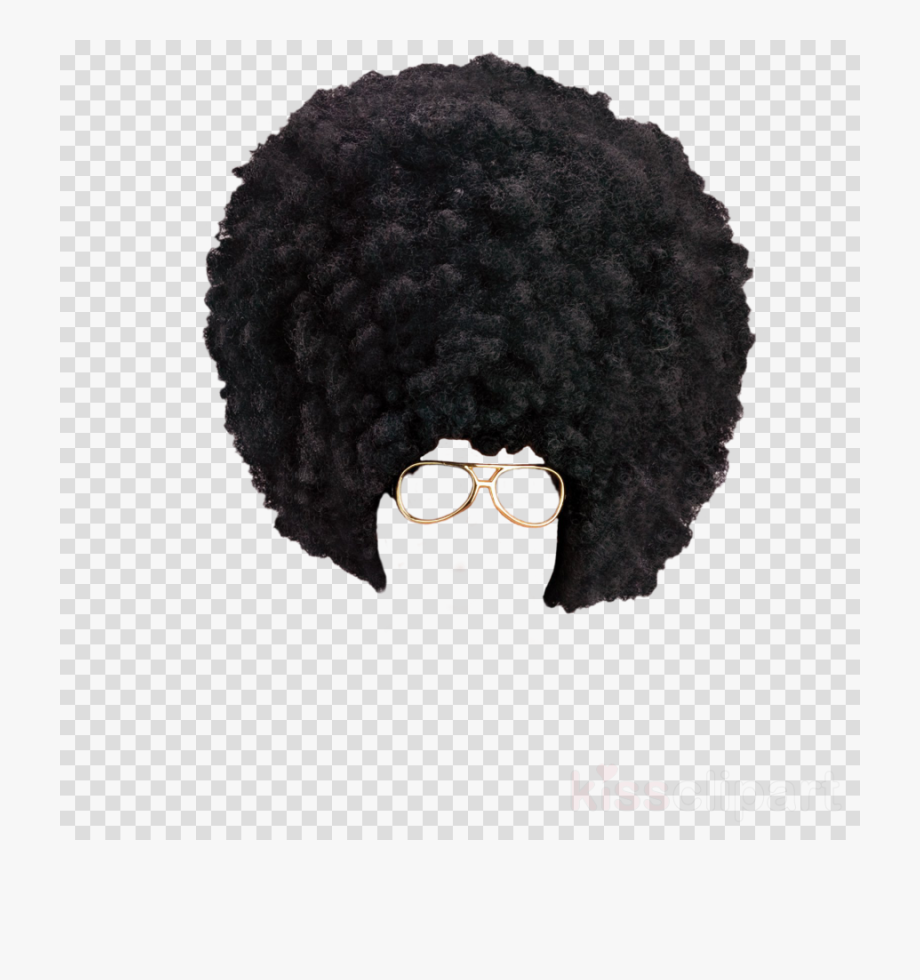 Afro clipart afro wig. Png vinyl record no