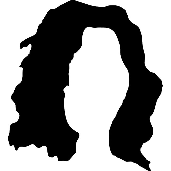 Silhouette at getdrawings com. Afro clipart afro wig