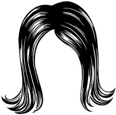Afro clipart afro wig.  a f b
