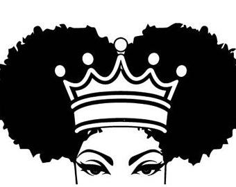 Download Afro clipart black queen, Afro black queen Transparent ...