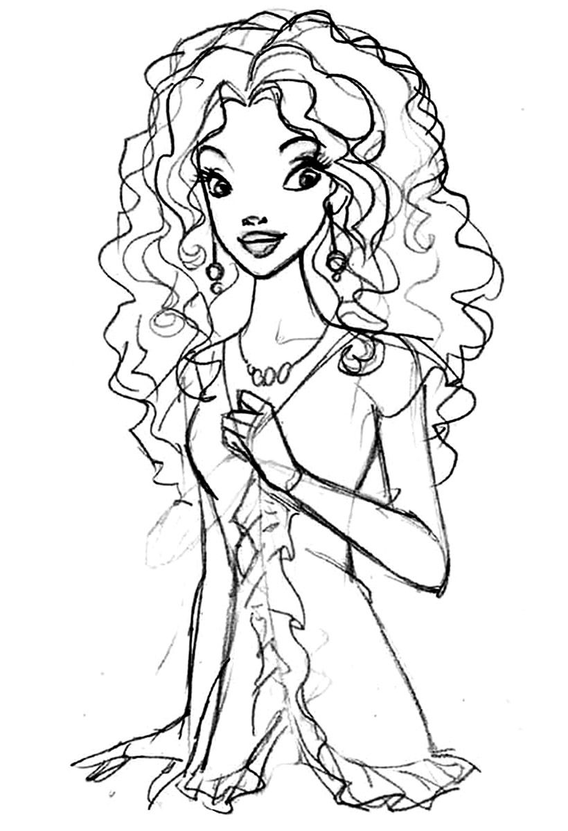 Barbie clipart african american. Awesome printable coloring pages