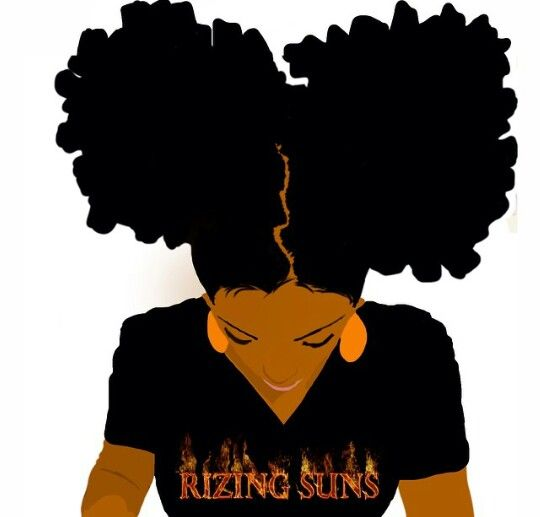 Pictures black girl art. Afro clipart drawing