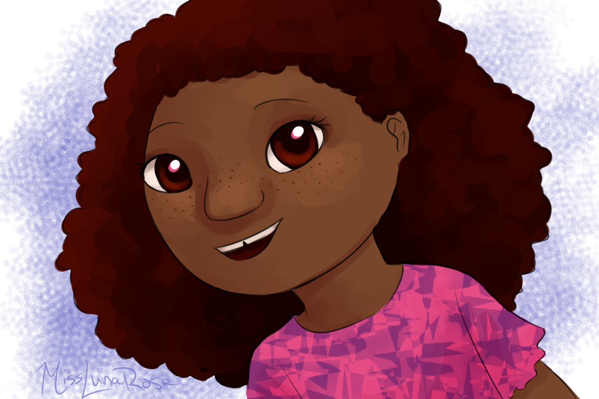 Afro clipart drawing.  ways to draw
